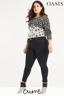 Oasis Black Curve Lily Skinny Jean