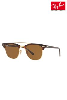 Ray-Ban® Brown Club Master Double Ridge Sunglasses