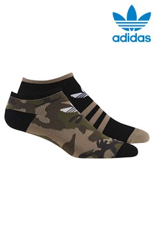 adidas Originals Adults Camo Ankle Socks 2 Pack