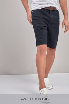 Belted Five Pocket Shorts