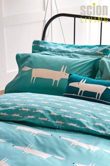 Scion Mr Fox Oxford Pillowcase