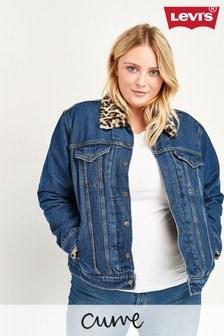 Levi's® Plus Sherpa Trucker Jacket
