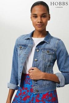 Hobbs Blue Mariam Jacket