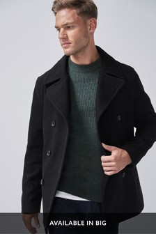 Wool Rich Peacoat
