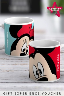 Personalised Mickey Mouse Mug by Customised By Me