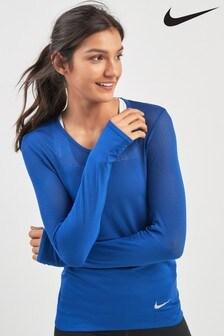Nike Infinite Blue Long Sleeved Running Top