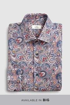 Paisley Slim Fit Shirt
