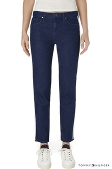 Tommy Hilfiger Blue Como Cropped Jean