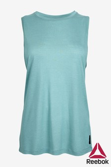 Reebok Teal Muscle Tank Top