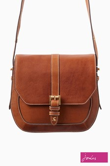 Joules Tan Saddle Leather Bag