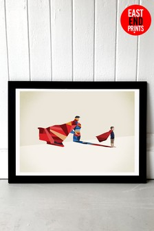 Hero by Jason Ratliff Framed Print