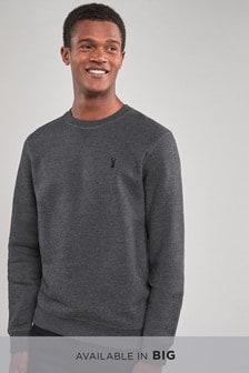 Sweat-shirt à col ras du cou