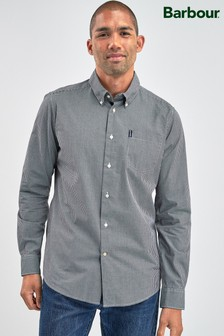 Barbour® Black Gingham Shirt