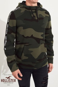 Hollister Khaki Camo Sweat