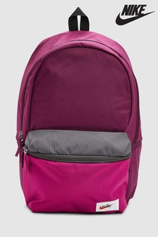 Nike Heritage Burgundy Backpack