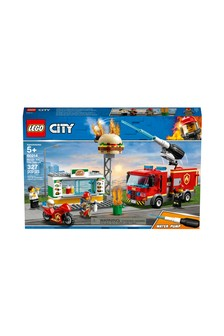 LEGO® Burger Bar Fire Rescue Fire Truck Toy 60214