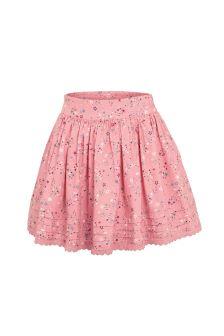 FatFace Dusky Pink Star Print Skirt