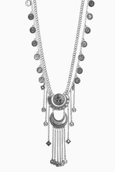 Charm Boho Long Necklace