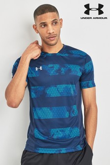 Under Armour Black/Blue Challenger Tee