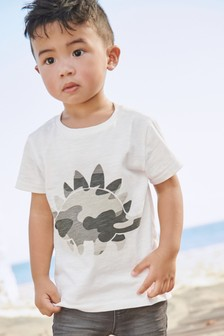 3D Camo Dino T-Shirt (3mths-7yrs)
