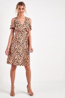 de0a3f24de Animal Print Dresses | Leopard & Snake Print Dresses | Next UK