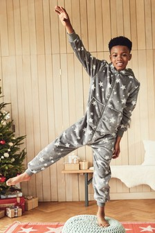 Star Fleece All-In-One (3-16yrs)