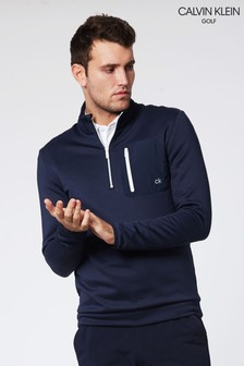 Calvin Klein Golf Blue Voyage Half Zip Top