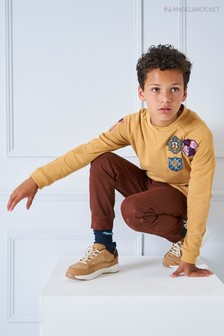 Angel & Rocket Camel Badge Sweat