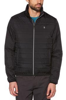 Original Penguin® True Black Quilted Jacket