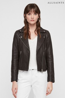 All Saints Dalby Leather Biker Jacket