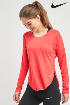 Nike City Sleek Long Sleeved Running Top