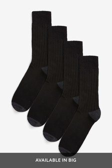 Midweight Socks Four Pack