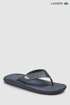 f5116ed416e69 Lacoste® Navy Croc Flip Flop
