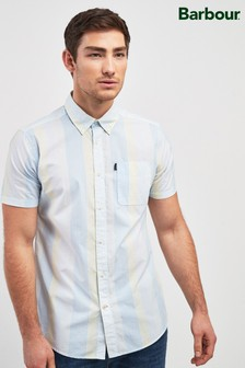 Barbour® Yellow Stripe Short Sleeve Shirt