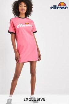 Ellesse™ Jemerlang T-Shirt-Kleid, Pink