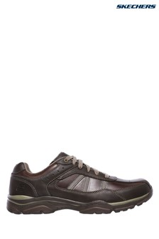 Skechers® Brown Rovato Texon Shoe