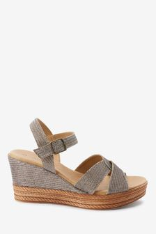 Forever Comfort Two Part Wedges
