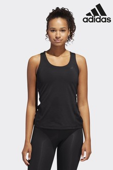 adidas Black Alphaskin Tank Top