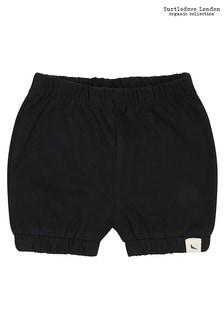 Turtledove London Black Black Bloomer Shorts