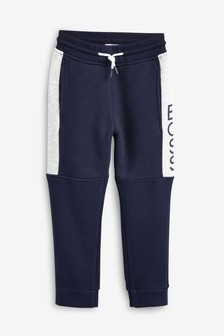 BOSS by Hugo Boss Navy Block Jogger