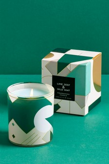 Lime Zest and Wild Mint Candle