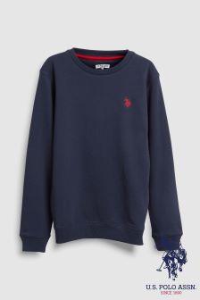 U.S. Polo Assn. Crew Sweatshirt