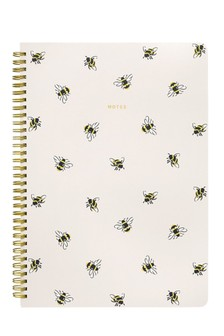Cath Kidston® Bumble Bee A4 Notepad
