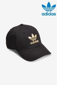 adidas Originals Black/Gold Baseball Cap