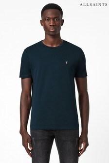AllSaints Blue Brace Contrast T-Shirt