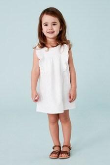 Linen Blend Dress (3mths-7yrs)