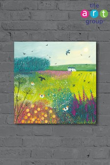 Midsummer Meadow by Jo Grundy Canvas