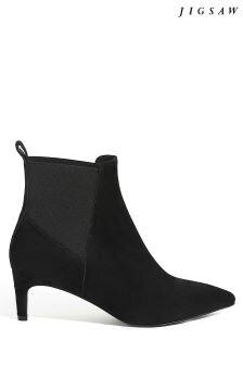 Jigsaw Black Olsen Ankle Boot