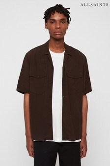 AllSaints Khaki Vestal Military Shirt