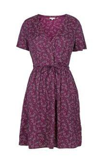 FatFace Dark Plum Gilly Artisan Floral Dress